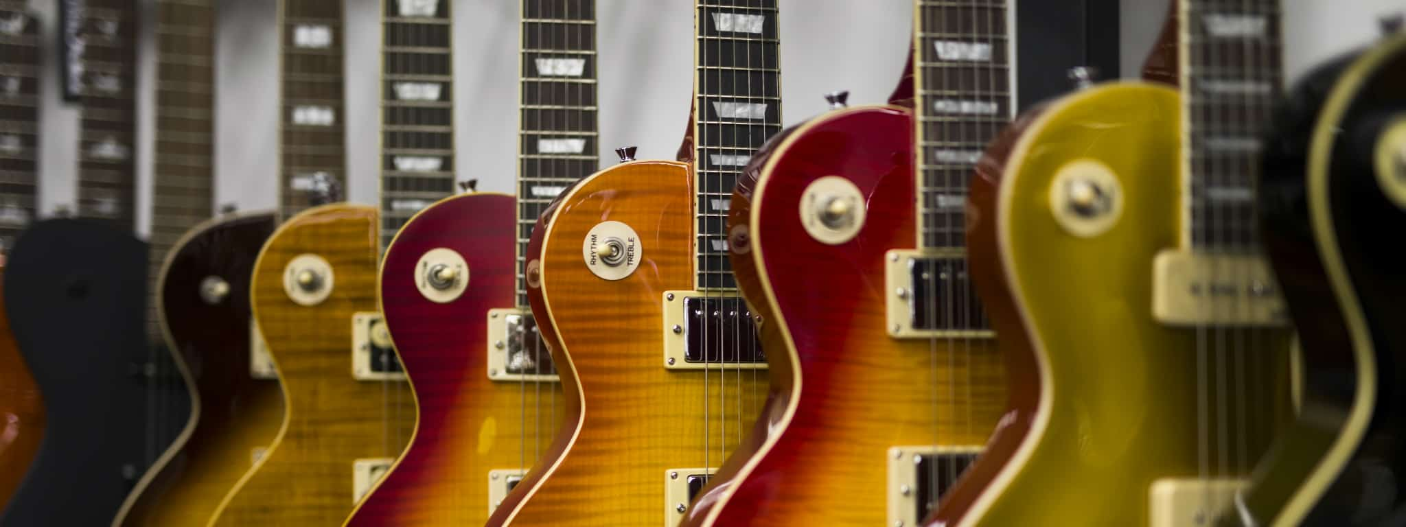 Les Paul Electric Guitars